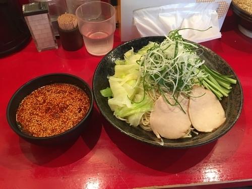 「広島つけ麺 15辛」@廣島つけ麺本舗 ばくだん屋 本店の写真