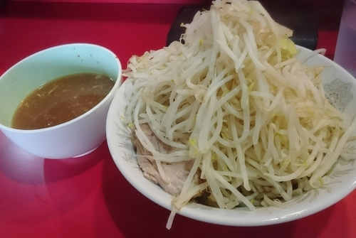 「つけ麺 750円」@蒙麺 火の豚の写真