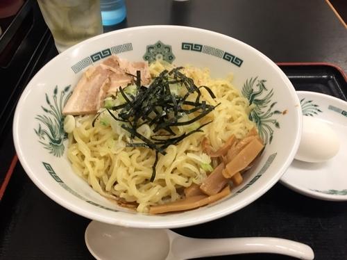 「汁なしラーメン(油そば)大盛」@中華食堂 日高屋 武蔵境北口店の写真