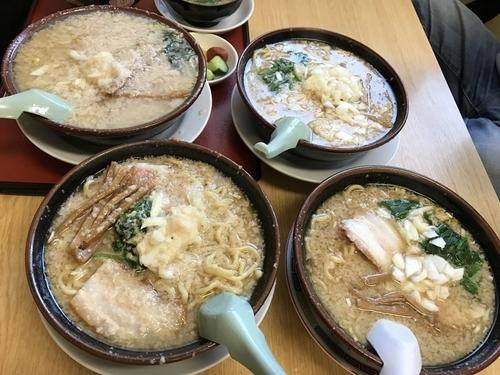 「中華(大油・麺カタメ・タマネギ多め)670円」@大むら食堂の写真
