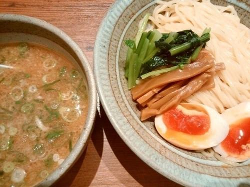 「豚骨つけ麺(大盛)」@風土記 千里中央店の写真