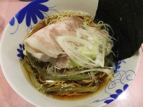 「凛々しい煮干し中華そば(780円)」@らーめん凛々の写真