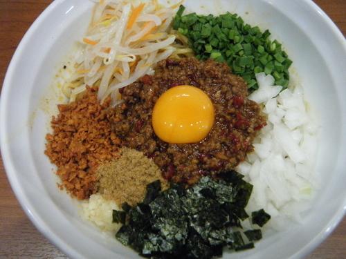 「台湾まぜそば(3辛いMAX)780円」@麺厨房 武蔵の写真