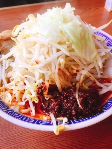 「辛ふじ麺」@常勝軒 伊勢崎店の写真