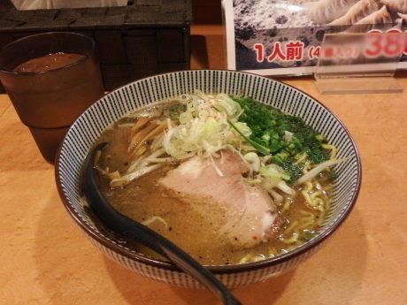 「ハーフ味噌らーめん」@らーめん札幌直伝屋の写真