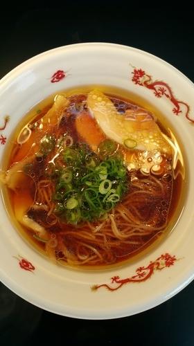 「鶏醤油らぁ麺」@大つけ麺博 2016の写真