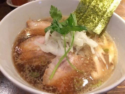「煮干そば」@神田とりそば なな蓮の写真