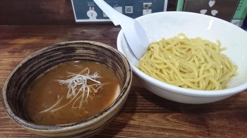 「豚骨魚介つけ麺+味玉(クーポン) ¥ 780」@麺工房 武の写真