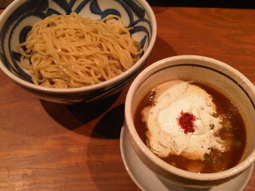 「泡つけ麺(並, 780円)」@つけ麺 麺也 時しらずの写真