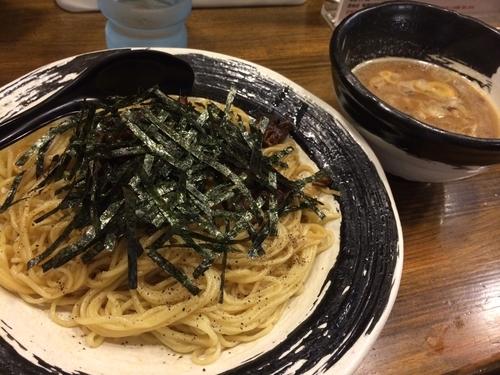 「まぜつけ麺 中盛」@あごばんらーめんの写真
