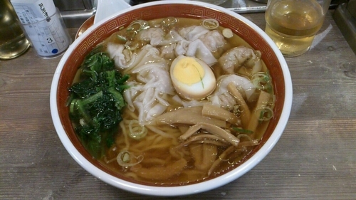 「広州雲呑麺(醤油)_799円」@広州市場 高円寺店の写真