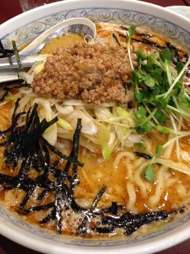 「担々麺」@麺工房 男爵 市川本店の写真