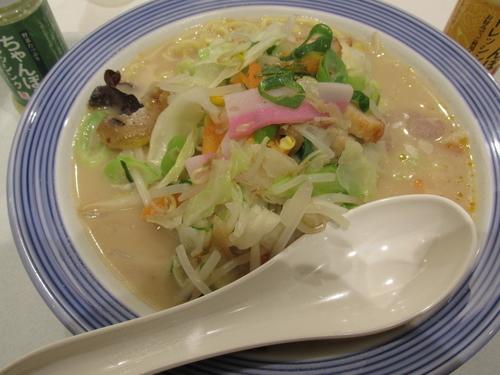 「野菜たっぷりちゃんぽん 「777円」」@リンガーハット イオンモール春日部店の写真