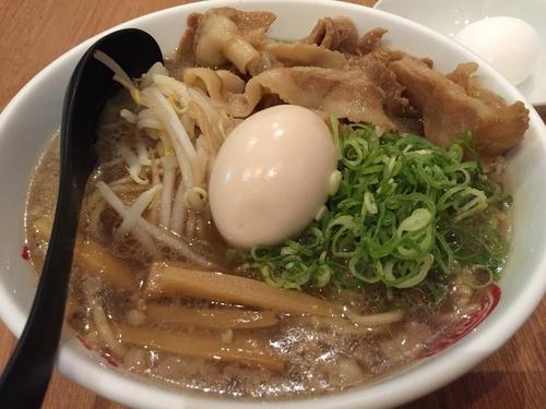 「肉玉そば+大盛り」@徳島中華そば 徳福 川崎モアーズ店の写真