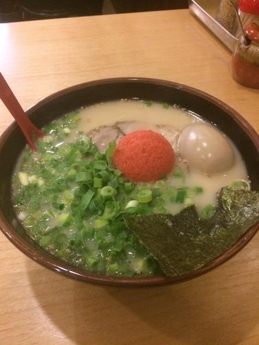 「明太豚骨ラーメン」@九州とんこつ長浜や 東高円寺店の写真