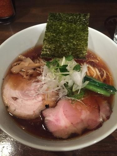 「支那そば、大盛り」@日本橋 製麺庵 なな蓮の写真