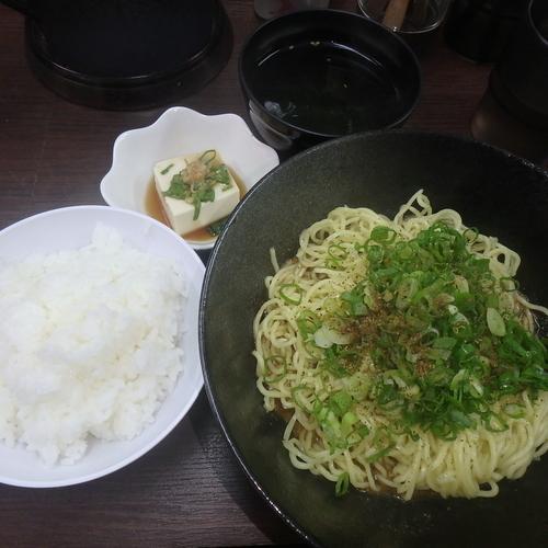 「唐揚げセット(大)(890円)(3辛)」@花山椒 大手町店の写真