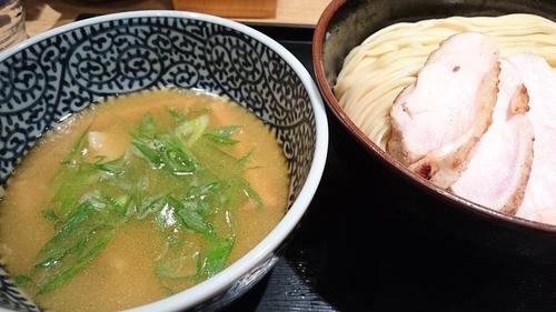 「【11月限定】純鶏白湯つけ麺(中) ¥ 850」@麺屋 一燈の写真