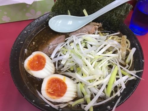 「和風特製ラーメン(太麺)」@ラーメンショップ 牛久結束店の写真