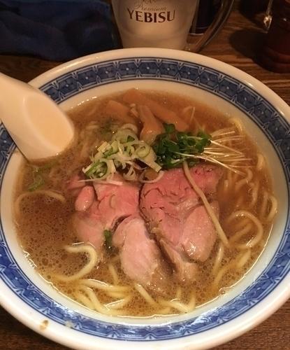 「らーめん ¥700  & 肉ちょい増し ¥150」@燦燦斗の写真