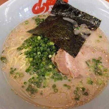 「朝ラーメン(麺硬め・梅抜き) ¥400」@山岡家 壬生店の写真