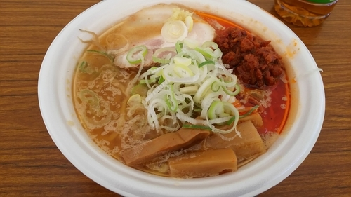 「【麺屋つくし×ラーメン大島】札幌濃厚旨味噌ラーメン」@東京ラーメンショー2016の写真