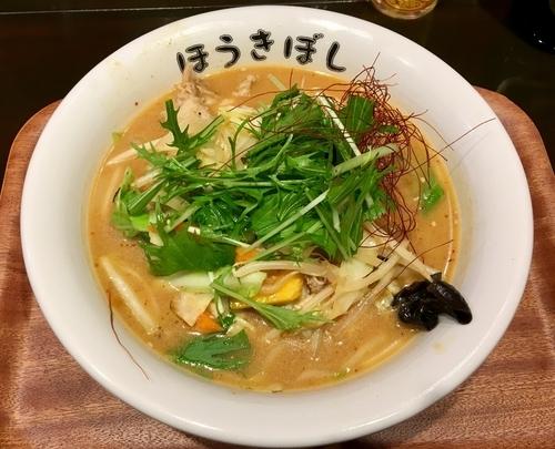 「辛口味噌タンメン 900円」@自家製麺 ほうきぼし 茅ケ崎店の写真