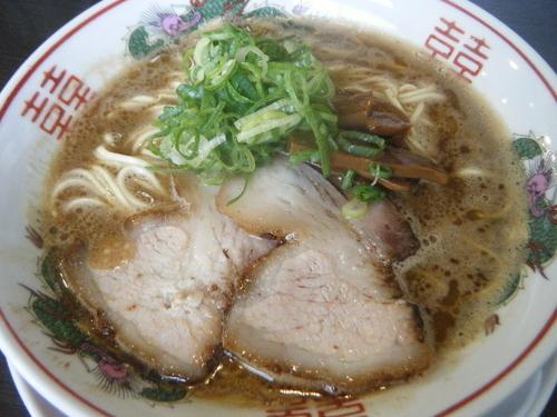 「福島醤油豚骨750円」@中華蕎麦 こばやの写真