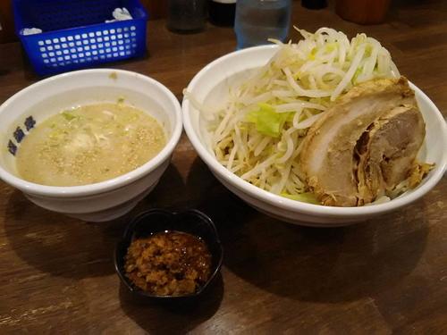 「胡麻つけ麺(中)ヤサイ900円」@爆麺亭 所沢店の写真
