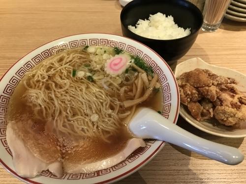 「中華そば 500円 ラーメンセット 200円」@おやつラー専科 チキチキGOGOの写真