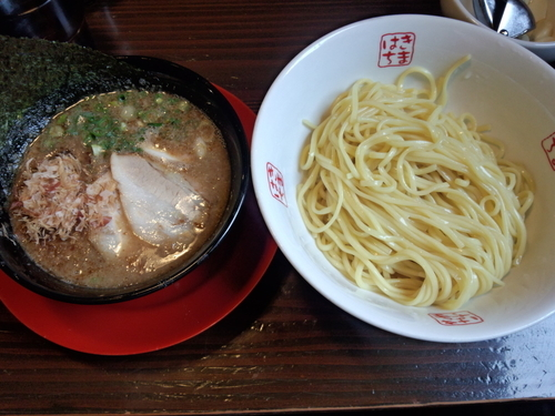 「節つけ麺800円」@きまはち商店の写真