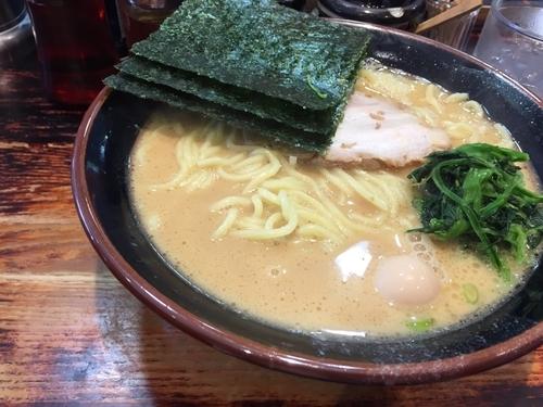 「豚骨醤油ラーメン」@横浜とんこつらーめん 大黒家 勝どき店の写真
