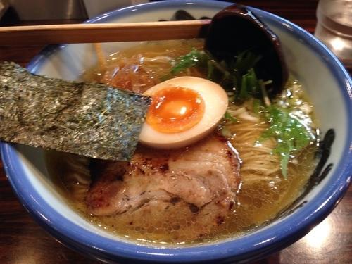 「塩ラーメン」@AFURI 三軒茶屋店の写真