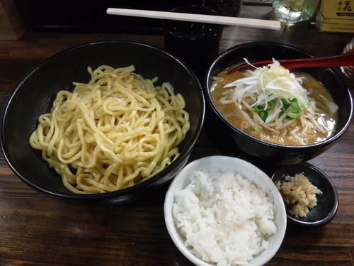 「辛味噌つけめん(あつもり)」@麺処 花田 池袋店の写真