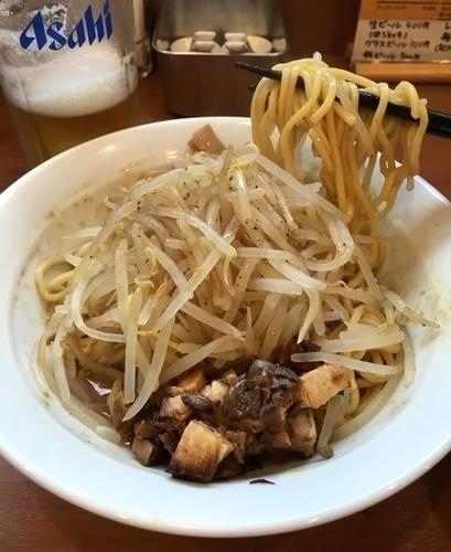 「まぜそば (を御神本ver.で) 750円」@中華そば 七麺鳥の写真