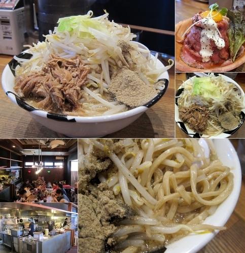 「ニボ二郎 780円(大盛・野菜・蒜少し)」@凌駕IDEAの写真