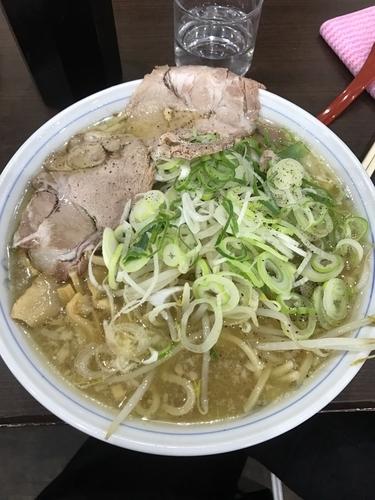 「ラーメン➕中盛➕麺固め」@ラーメン ホープ軒の写真