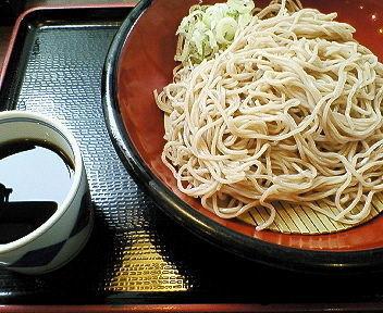 「もり 290円」@蕎麦 一心たすけ 日本橋店の写真