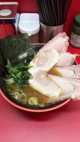 「チャーシュー麺 並」@横濱家系ラーメン 勝鬨家の写真