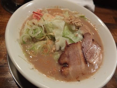 「塩ダレジンジャーらー麺」@らー麺屋台 骨のzuiの写真