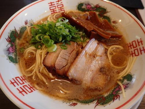 「【期間限定】福島豚骨醤油」@中華蕎麦 こばやの写真