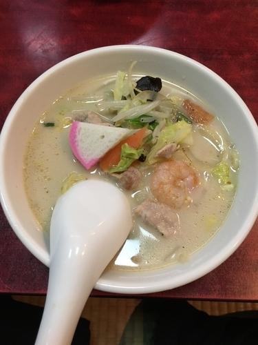 「長崎チャンポン800円」@中華料理 や志満の写真