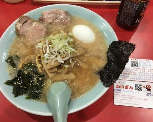 「美味しい!」@ラーメン かいざん 新小岩店の写真