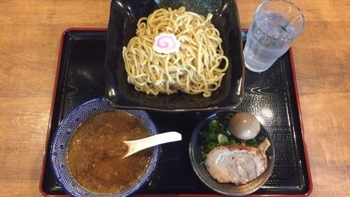 「味玉つけめん」@つけ麺二代目YUTAKA 周南店の写真