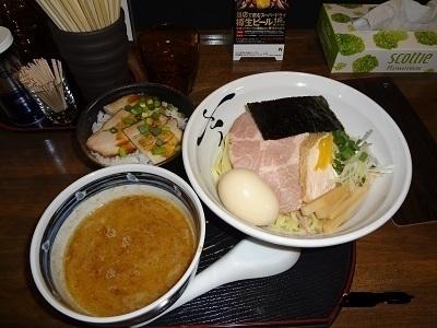 「鶏と鰹のつけ麺」@さくら木の写真