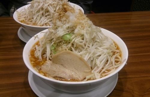 「味噌ふじ麺750円+親方野菜増し330円」@東池袋大勝軒 うさぎ家の写真