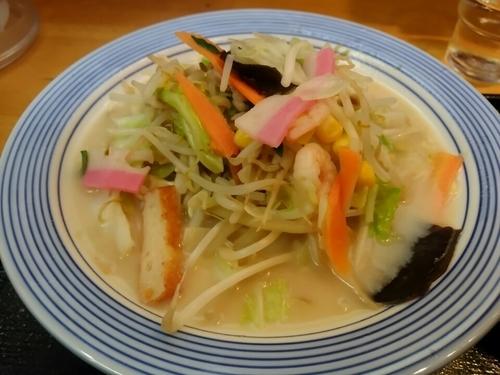 「野菜たっぷりちゃんぽん(ミドル)730円」@長崎ちゃんぽん リンガーハット 五反田東口店の写真
