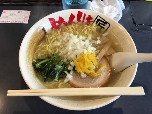 「ゆず塩ラーメン」@めんりき匠ラーメン 日野本店の写真