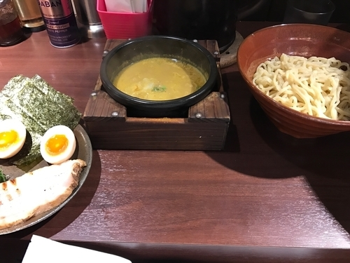 「特製カレーつけ麺」@しゅういち 恵比寿店の写真
