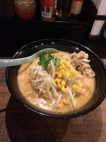 「味噌ラーメン 680円」@らーめん味噌まるの写真